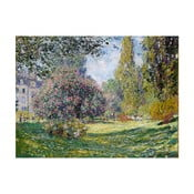 Obraz Claude Monet - Landscape The Parc Monceau, 40x30 cm