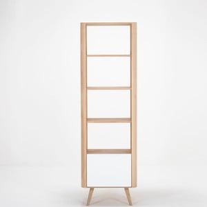 Knižnica z dubového dreva Gazzda Ena, 60×42×196 cm