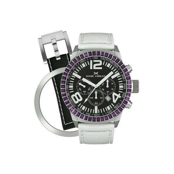 Dámske hodinky Marc Coblen s remienkom a ozdobou ciferníku naviac P17