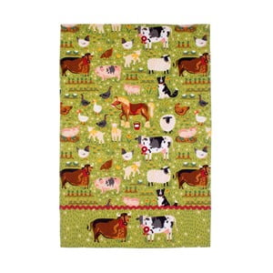 Bavlnená utierka Ulster Weavers Jennie 's Farm