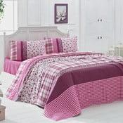 Prikrývka cez posteľ na dvojlôžko Pelin, 200×230cm