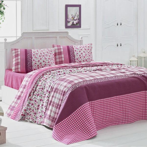 Prikrývka cez posteľ na dvojlôžko Pelin, 200×230 cm