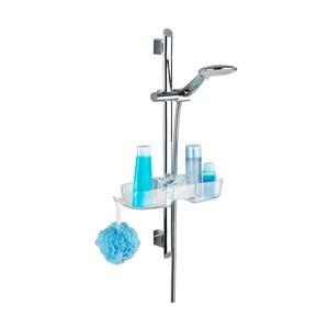 Kúpeľňová polička s úchytom na sprchu Wenko Premium