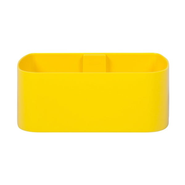 Magnetický kvetináč Truhlík 23x9x12 cm, žltý