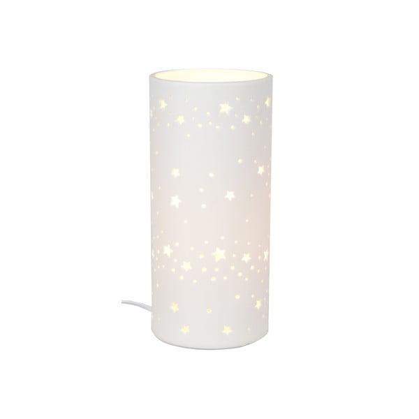 Keramická stolová lampička Stars, 20 cm