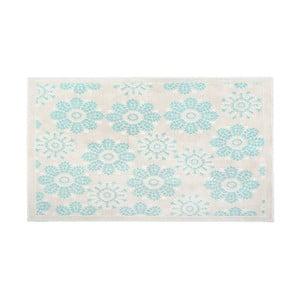 Bavlnený koberec Qualta 60x90 cm, tyrkysový