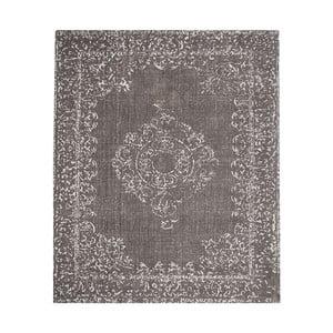 Sivý bavlnený koberec LABEL51 Vintage, 230 x 160 cm