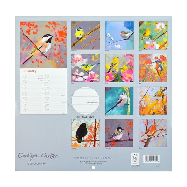 Kalendár Portico Designs Carolyn Carter