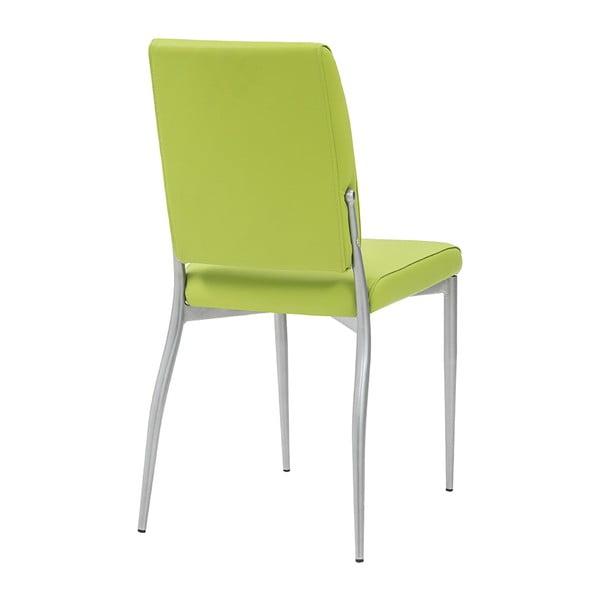 Jedálenská stolička Trilly, zelená