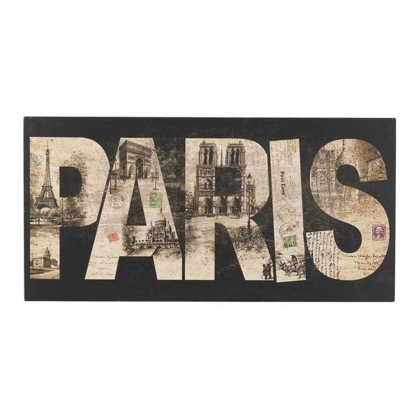 Nástenná ceduľa Paris