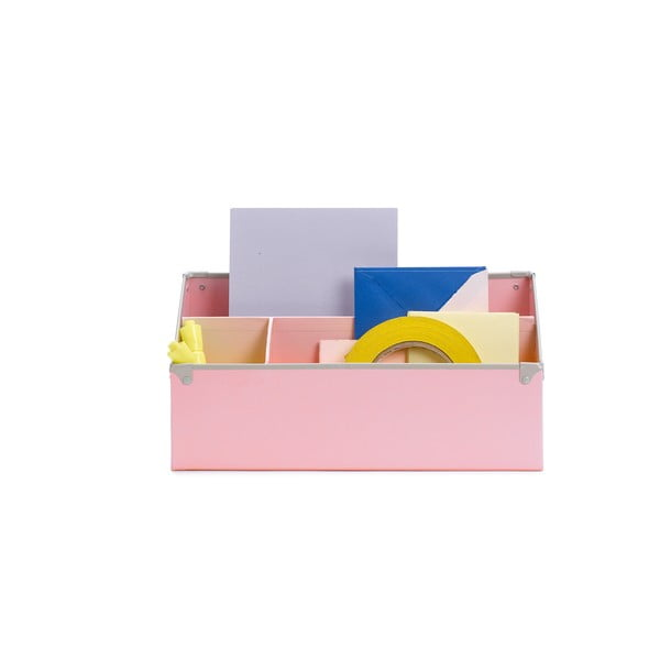 Organizér na stôl Design Ideas Frisco Pink