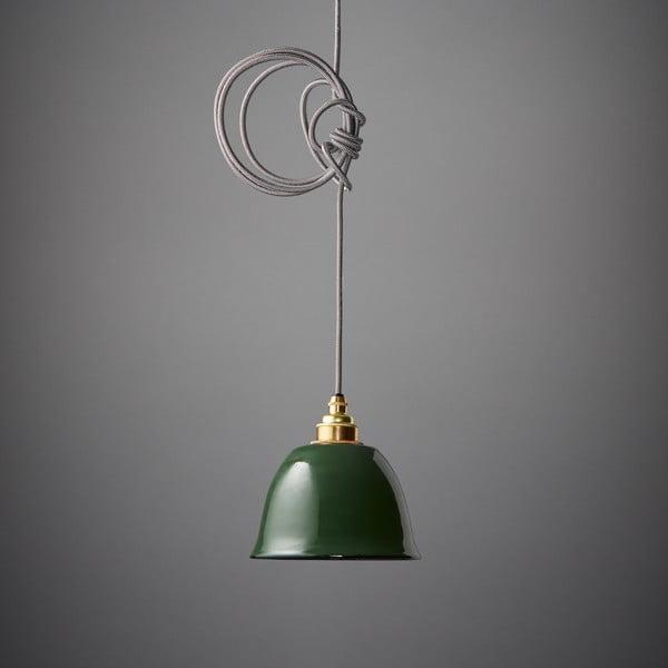 Závesné svetlo Miniature Bell Green
