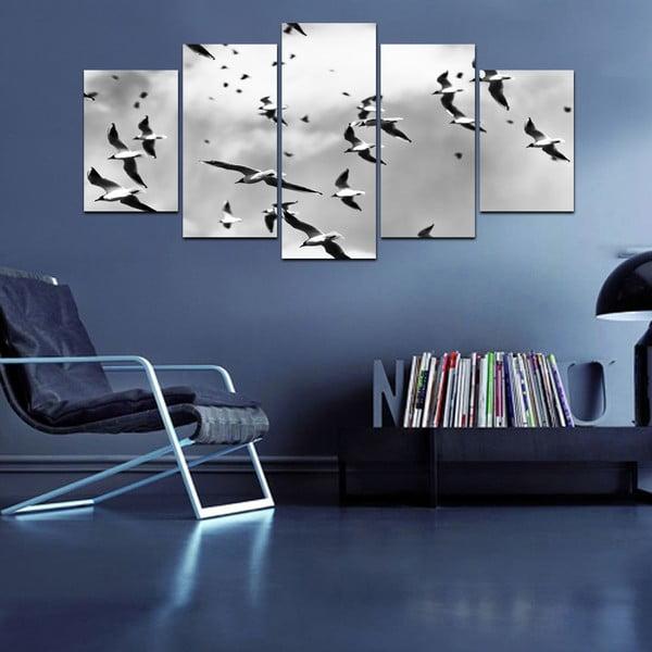Vícedílný obraz Black&White no. 51, 100x50 cm