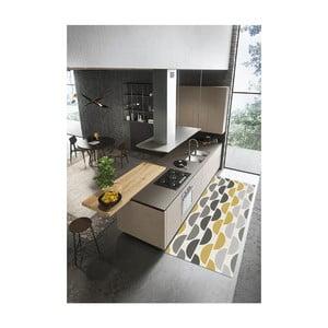 Behúň Floorita Halfmoon Grey Ochre, 60 × 240 cm