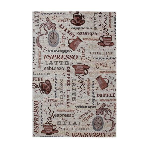 Hnedý koberec Eko Rugs Coffee, 80 x 150 cm