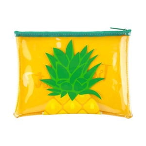 Priehľadná taštička Sunnylife Pineapple