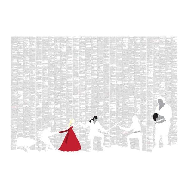 Knižný plagát Princezná nevesta, 100x70 cm