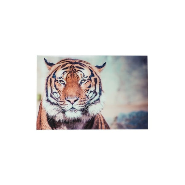 Sklenený obraz Tiger, 120x80 cm