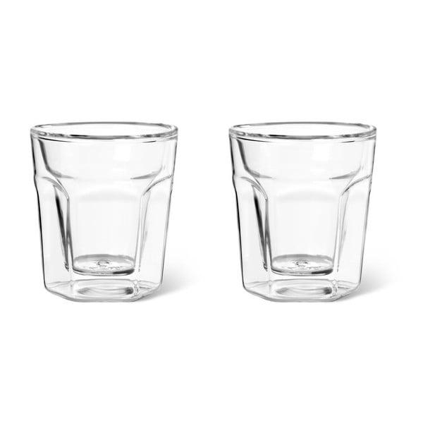 Set 2 dvojstenných pohárov Bredemeijer Espresso, 100 ml