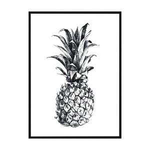 Plagát Nord & Co Pineapple, 21x29cm