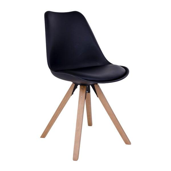 Sada 2 čiernych stoličiek House Nordic Bergen