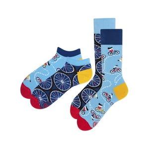 Sada 2 párov klasických a členkových ponožiek Many Mornings Bicycles, veľ. 43-46
