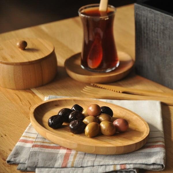 Bambusová servírovacia miska Bambum Billy Snack