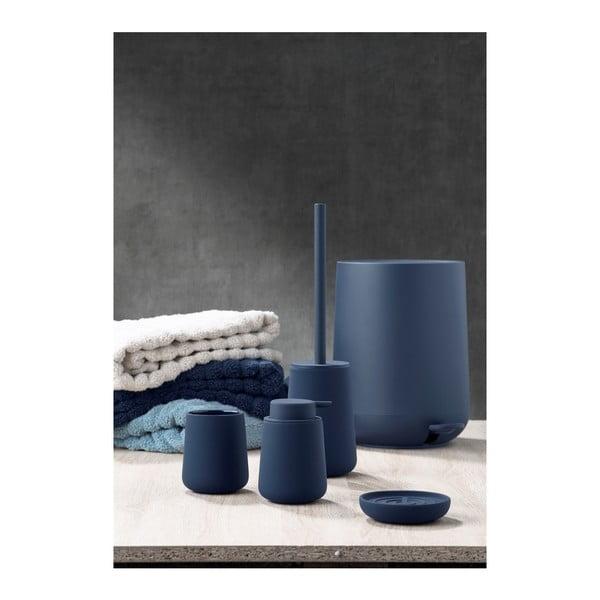 Modrý pedálový odpadkový kôš Zone Nova, 5 l