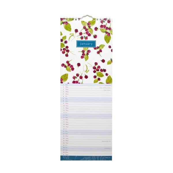 Úzký kalendár Portico Designs Laura Ashley