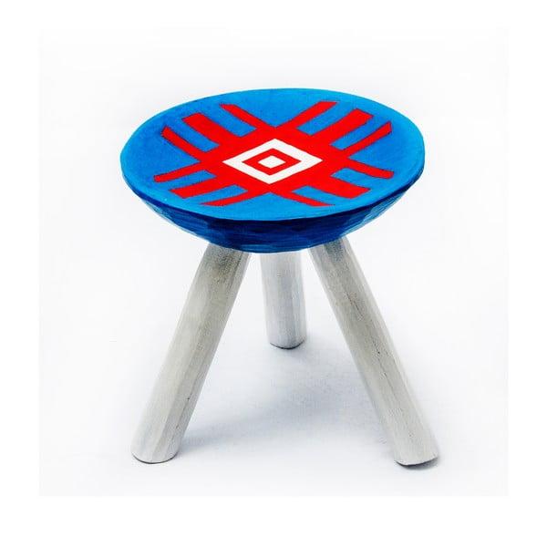 Ručne maľovaná stolička Alma, 28 cm