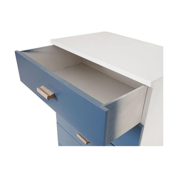 Komoda s 5 zásuvkami Vaasa Blue