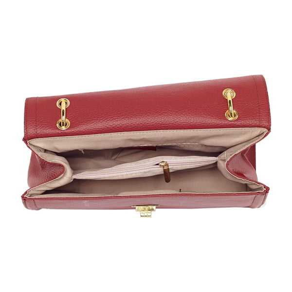 Kožená kabelka Andrea Cardone 933 Bordeaux