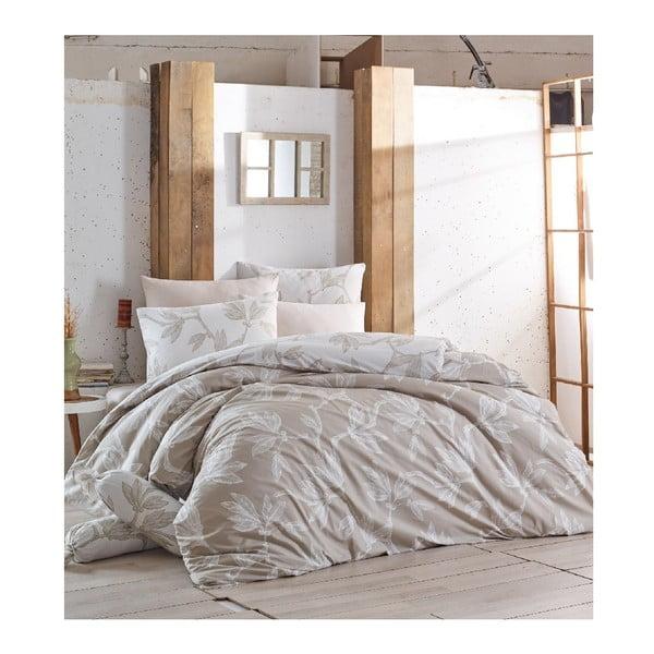 Set bavlnenej posteľnej obliečky Soft Plants, 160 x 220 cm