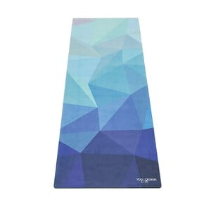 Podložka na jogu Yoga Design Lab Geo Blue, 1 mm