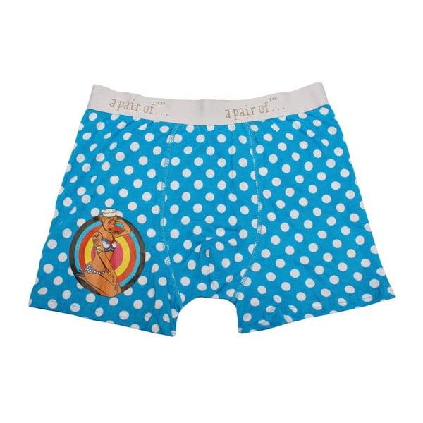 Pánské boxerky Dots, veľkosť M