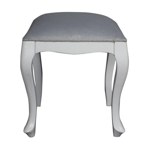 Stolička Cervo White, 40x40x45 cm