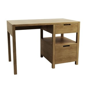 Pracovný stôl z dubového dreva Fornestas Sims