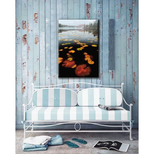 Obraz Morning at Rock Pond, 80x115 cm