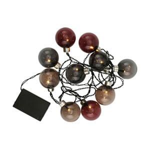 Farebná svetelná reťaz s guľami A Simple Mess Dans
