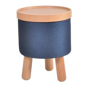 Modrá stolička Garageeight Molde s odnímateľným vrchom, veľkosť S