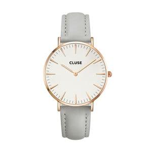 Hodinky Cluse La Bohéme Rose Gold White/Grey