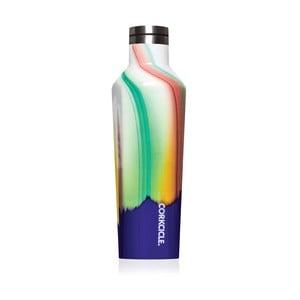 Dúhová cestovná termofľaša z antikoro ocele Corkcicle Canteen, 470 ml