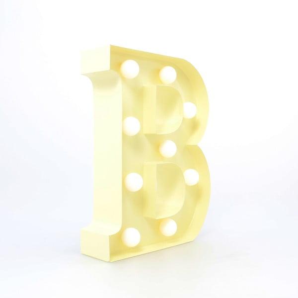 Dekoratívne svetlo Carnival B, vanilkové