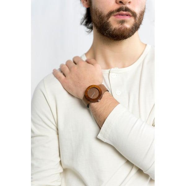 Drevené hodinky Analog Watch Co. Makore & Red Sanders