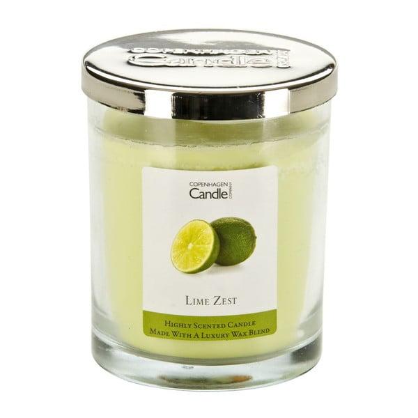 Aromatická sviečka Copenhagen Candles Lime Zest, doba horenia 40hodín