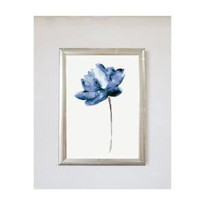 Obraz Piacenza Art Flower Bleu, 30 × 20 cm