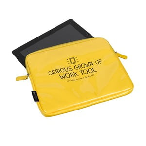 Puzdro na tablet Serious Yellow