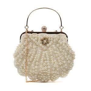 Listová kabelka v zlatej farbe Renata Corsi Mermaid
