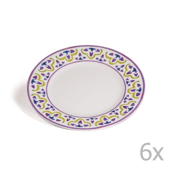 Sada 6 dezertných tanierov Toscana Cortona, 21.5 cm