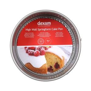 Guľatá forma na pečenie torty s nepriľnavým povrchom Dexam Wall Springform cake, ø 18 cm